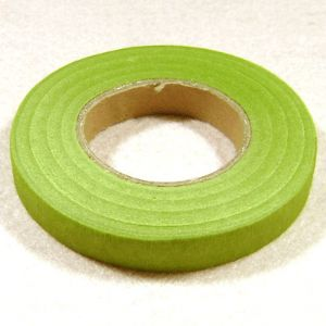 Florist tape, Paper, Olive-Green, 29m x 1.2cm (approximate), (FT21)